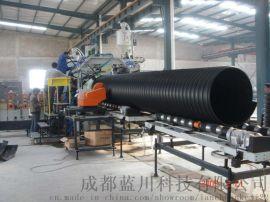 钢带增强pe螺旋波纹管成都供应商