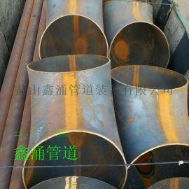 包頭鑫涌自產自銷1D大口徑對焊彎頭推制碳鋼無縫彎頭