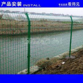 江门三角折弯隔离栅 珠海边框护栏 惠州浸塑铁丝网