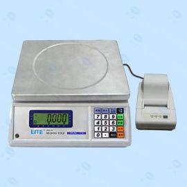 联贸UWA-N标签打印电子秤 联贸15kg条码打印电子称 不干胶电子秤