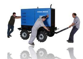 大泽动力600A柴油发电焊机展示平台