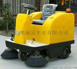 电动驾驶式环卫道路清扫车工业扫地机小区物业 环卫
