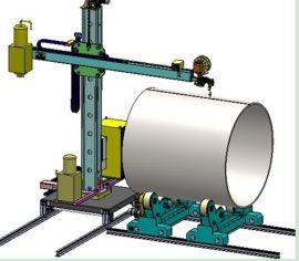 聊城2米焊接操作机操作流程滚轮架变位机 信誉保证