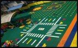 昭阳市气垫悬浮地板篮球场塑胶地板拼装地板