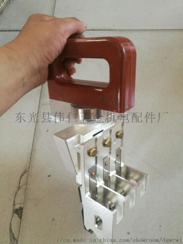 刷握提刷裝置 QF-25-2型冷汽輪發電機刷架