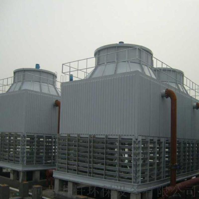 龙轩厂家直销方形逆流式标准型玻璃钢冷却塔