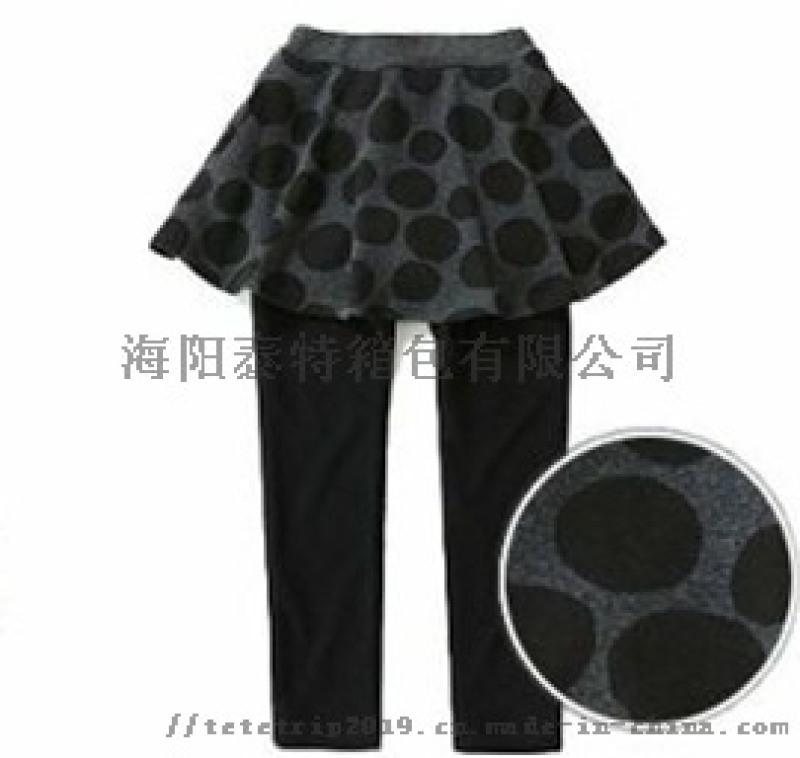 泰特厂家供应儿童加绒裤裙冬季新款