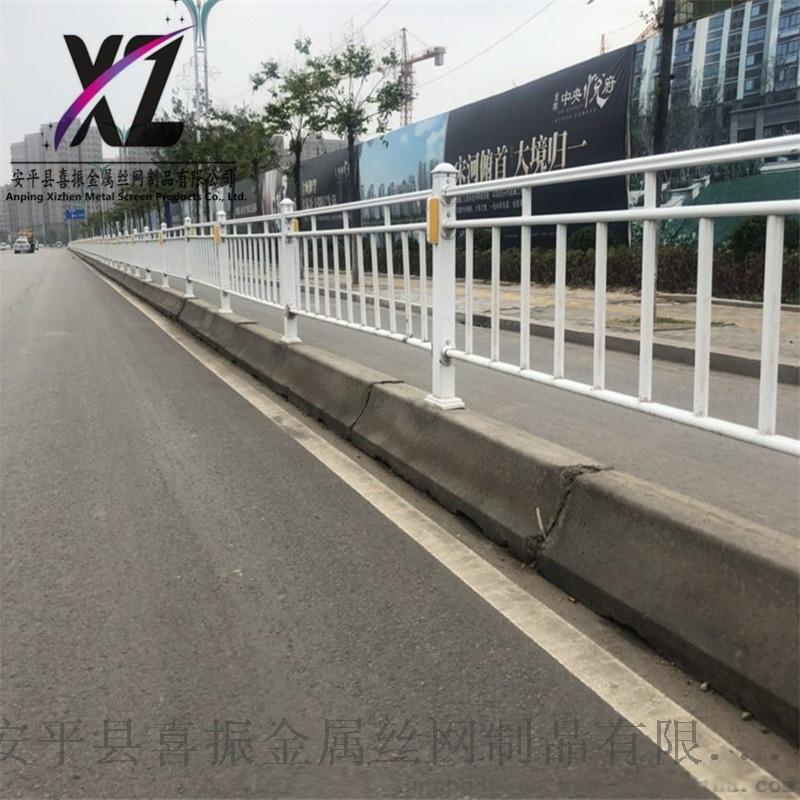 交通隔离道路护栏@灌水镇市政护栏@市政道路护栏供应