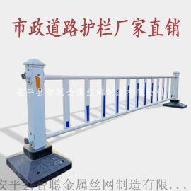 市政护栏 马路锌钢护栏人行道隔离栏公路护栏市政隔离