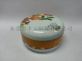 圆形月饼铁罐,双层月饼铁盒,马口铁月饼铁盒