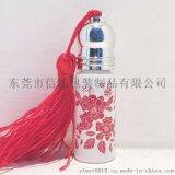 化妝瓶玻璃瓶花紙 信拓定製加工陶瓷瓶燙金水貼紙