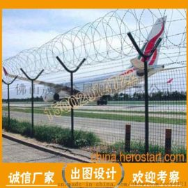 韶关防爬护栏网 镀锌铁丝围栏 芳村看守所刺绳护栏