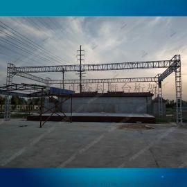 大型桁架鋁板介面人字頂桁架演出燈光架舞臺濟南