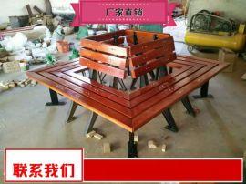 园林椅规格型号 公共实木座椅优惠销售