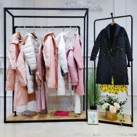 韩国代购女装唯众良品衣服的来源库存尾货服装女式衬衫短袖女装t恤