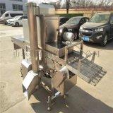 雞柳條裹糠設備 全自動裹糠機  肉條上漿裹糠機