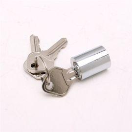 储物柜锁芯 各类锌铝材质两把钥匙锁芯 家装建材锁具厂家供应