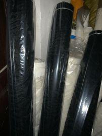 180目錦綸1.6米寬網布黑色服裝裏子布