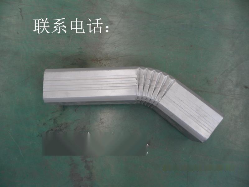 供應彩鋼落水管108*144丨彩鋼方形落水管