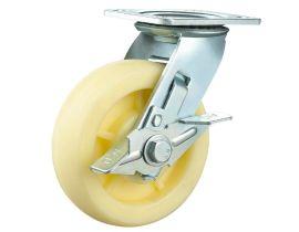 重型双轴(花纹)尼龙轮