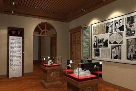 隆城BWG-2博物馆展柜(古典型)