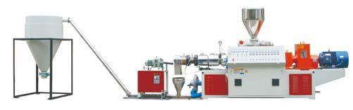 PVC熱切造粒生產線