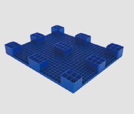 聊城九脚平板塑料托盘,仓储货架防潮板垫仓板1210
