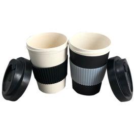 可接受定制竹纤维咖啡杯
