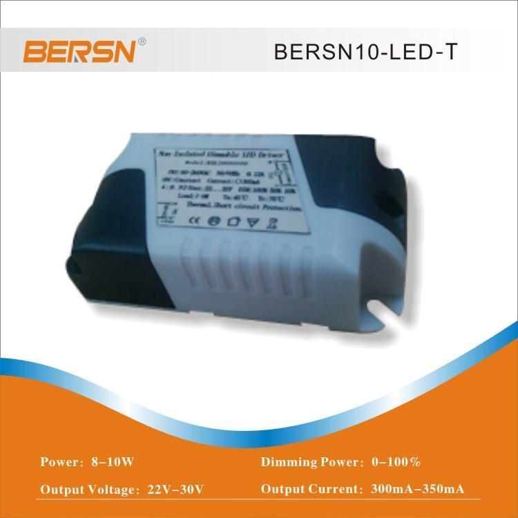 鉑勝LED漸變調光碟機動電源 非隔離恆流驅動無級調光8-10W