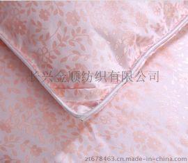 全涤床上套件面料珠光浆印花布