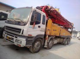 三一中联37米混凝土泵车二手混凝土泵车