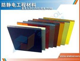 批发有机玻璃板,亚克力板,黄色防静电有机玻璃板
