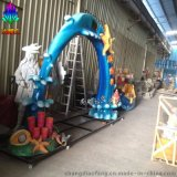 尚雕坊新款H260CM海洋主题玻璃钢材质拱形门
