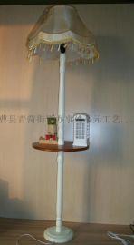 山东丛元木艺品厂加工生产木盒台灯落地灯