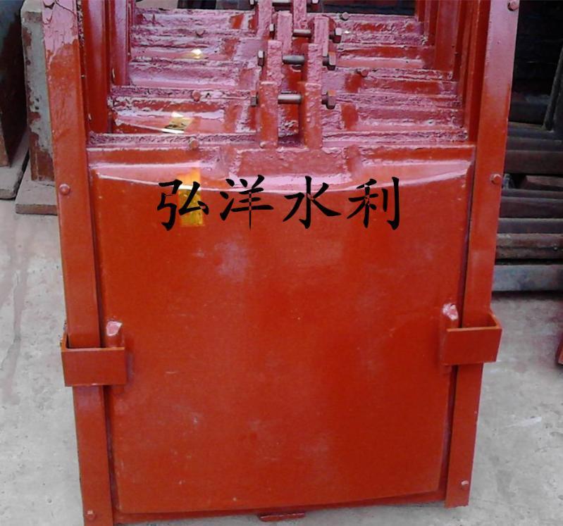 定制水库、污水处理PGZ1.0m*1.0m铸铁闸门