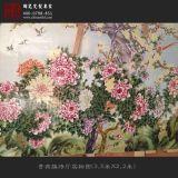 景德镇名家四幅粉彩瓷板画