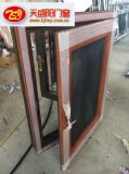 金刚网一体窗户多少钱一平米丨铝包木窗纱一体网厂家价格