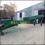 採石場輸送石子皮帶機 帶移動輪高低可調l輸送機