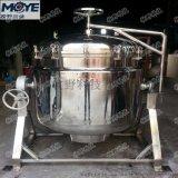 廠家直銷電加熱可傾斜不鏽鋼蒸煮罐 304 316衛生級蒸汽加熱蒸煮鍋