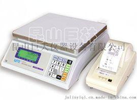 联贸UWA-N电子桌秤 10kg不干胶打印电子称 包装  条码标签称