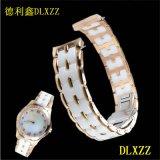 新款上市不锈钢表带奈香时尚女士腕表原装进口石英机芯316精钢表壳蓝宝石水晶镜面进口陶瓷表链