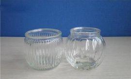 玻璃烛台,西瓜玻璃烛台,南瓜玻璃烛台,出口玻璃烛台