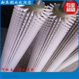 订做优质毛刷辊 工业毛刷棍 清洗毛刷辊 尼龙丝毛刷辊 毛刷