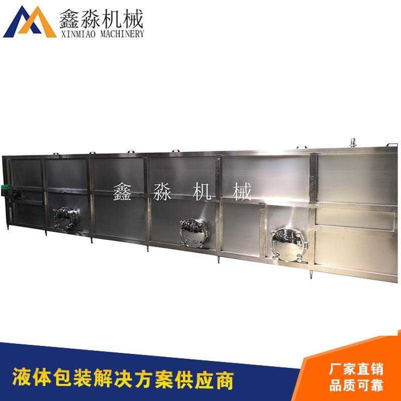 喷淋杀菌设备冷却隧道巴氏杀菌喷淋机喷淋冷却