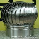 A旋鼎牌300型无动力风帽不锈钢烟道风球