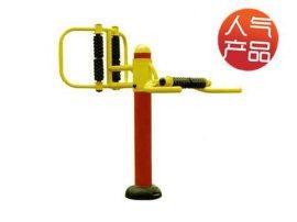 新乡广场健身器材名称 坐式腰背按摩器