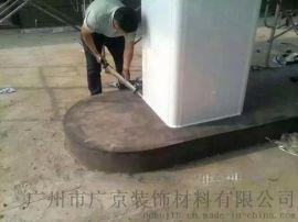 青岛加油站立柱包柱铝型材-包柱铝板板-铝圆角