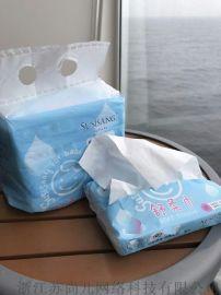 SUSISANG苏尚儿舒柔巾纸巾干湿两用无纸屑不掉渣