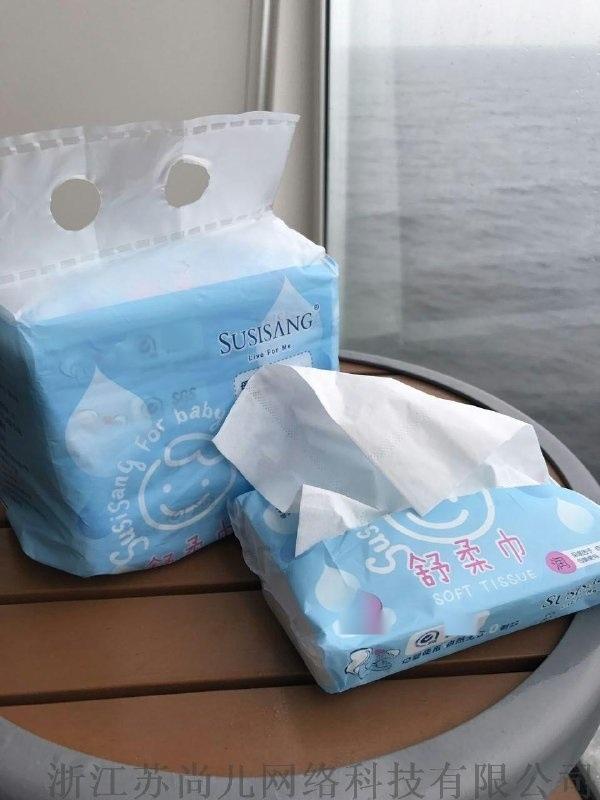SUSISANG蘇尚兒舒柔巾紙巾乾溼兩用無紙屑不掉渣