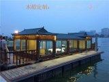 江南木船精品供應水上餐飲畫舫船 優質的旅遊船觀光船